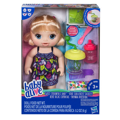 Obrázek Baby Alive  Blonďatá panenka s mixérem