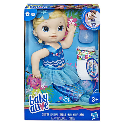Obrázek Baby Alive Blond mořská panna