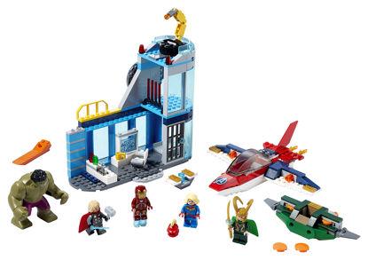 Obrázek LEGO Super Heroes 76152 Avengers – Lokiho hněv