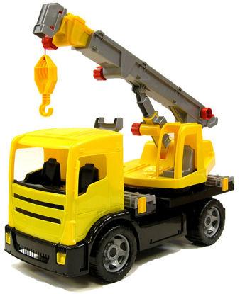 Obrázek Dětský autojeřáb žlutý