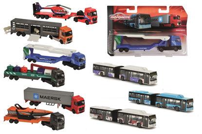 Obrázek Autobus nebo nákladní auto, kovové