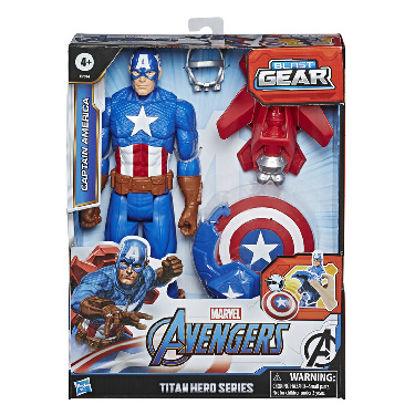 Obrázek Avengers figurka Capitan America s Power FX přislušenstvím