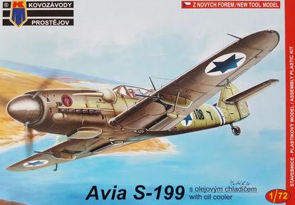 Obrázek Stavebnice Avia S-199 Izrael/CS