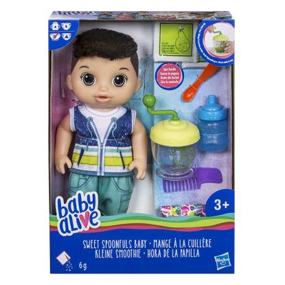 Obrázek Baby Alive Tmavovlasý chlapec s mixérem