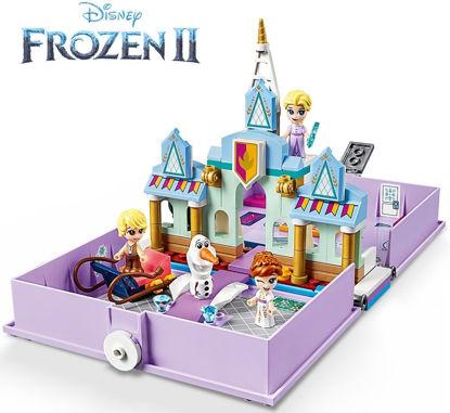 Obrázek LEGO Disney Princess 43175 Anna a Elsa a jejich pohádková kniha dobrodružství