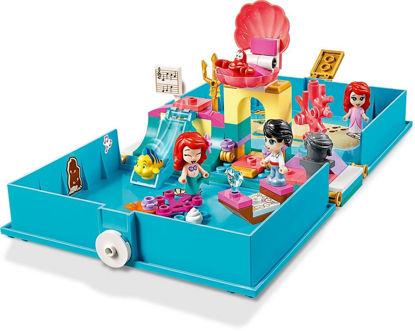 Obrázek LEGO Disney Princess 43176 Ariel a její pohádková kniha dobrodružství