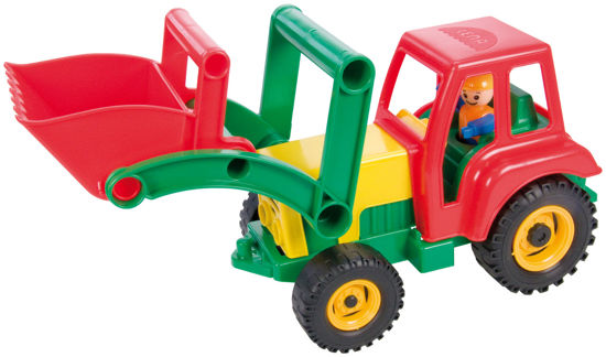 Obrázek z Aktivní traktor se lžící