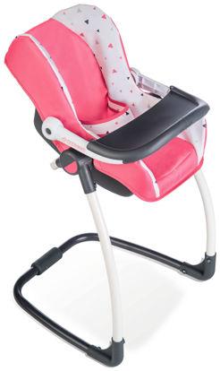 Obrázek 3v1 Autosedačka a židlička MC&Q pro panenky