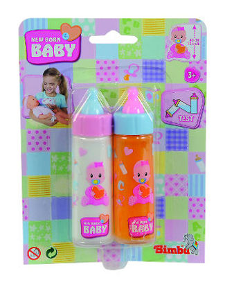 Obrázek New Born Baby ,2 lahvičky pro panenky