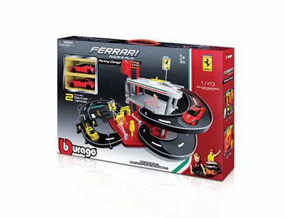Obrázek Bburago Ferrari Race & Play parkovací garáž