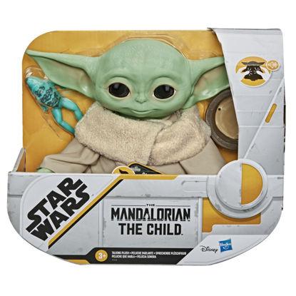 Obrázek Baby Yoda mluvící plyš