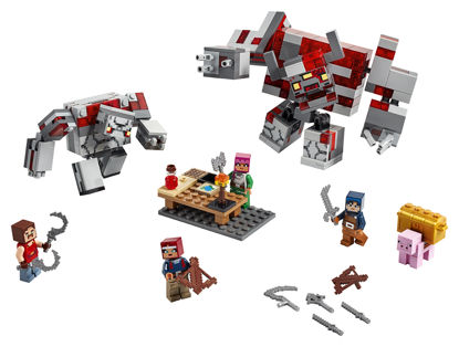 Obrázek LEGO Minecraft 21163 Bitva o rudit