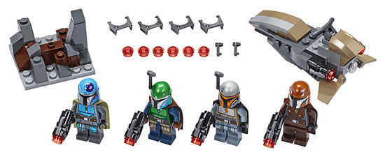 Obrázek z LEGO Star Wars 75267 Bitevní balíček Mandalorianů