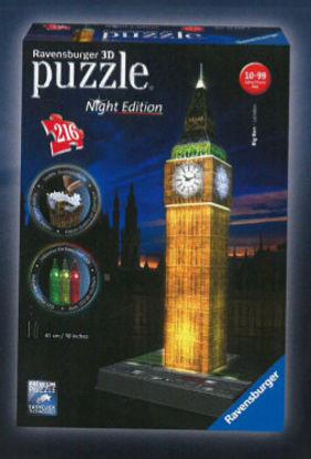 Obrázek Big Ben Noční Edice 3D puzzle