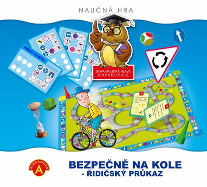Obrázek Hra Bezpečně na kole-Řidičský průkaz