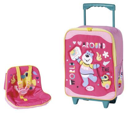 Obrázek BABY born Cestovní kufřík se sedačkou pro panenky