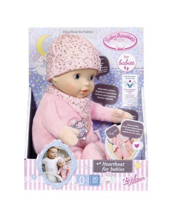 Obrázek Baby Annabell Heartbeat for babies, 30cm
