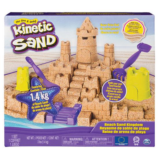 Obrázek z KINETIC SAND velký písečný hrad