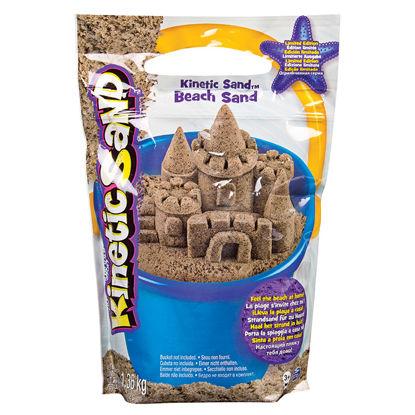 Obrázek KINETIC SAND přírodní tekutý písek 1,4kg