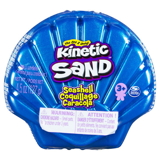 Obrázek z KINETIC SAND mořská mušle