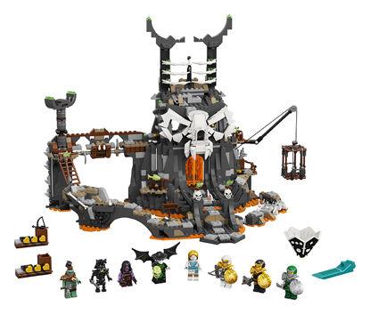 Obrázek LEGO Ninjago 71722 Kobky Čaroděje lebek