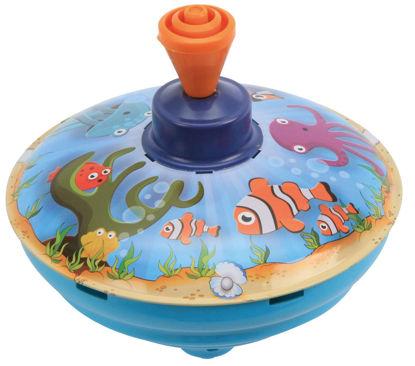 Obrázek Káča hrající, mořský svět, průměr 13 cm, C