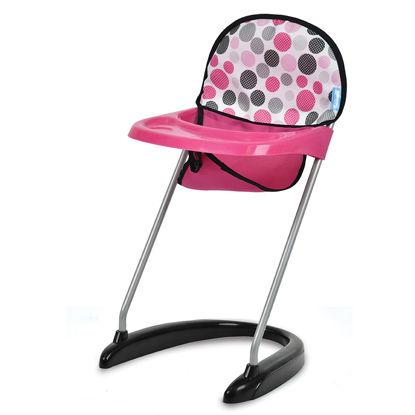 Obrázek Jídelní židlička - puntíky