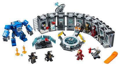 Obrázek LEGO Super Heroes 76125 Iron Man a jeho obleky