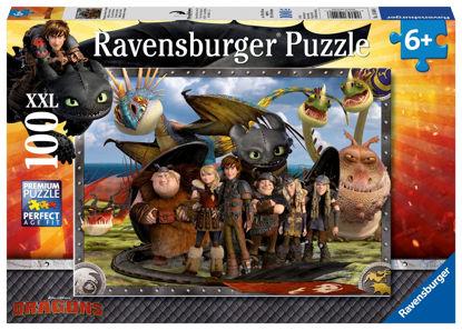 Obrázek Puzzle Jak vycvičit draka 2 100 XXL dílků