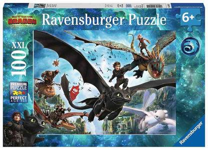 Obrázek Puzzle Jak vycvičit draka 3 100 XXL dílků