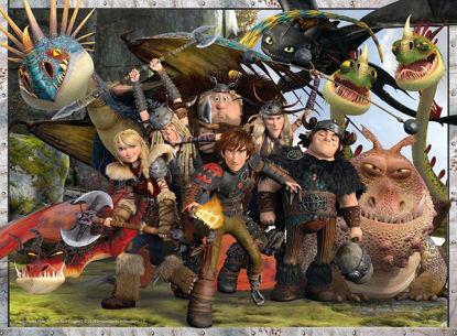 Obrázek Puzzle Jak vycvičit draka: Přátele si drž blízko 300 dílků