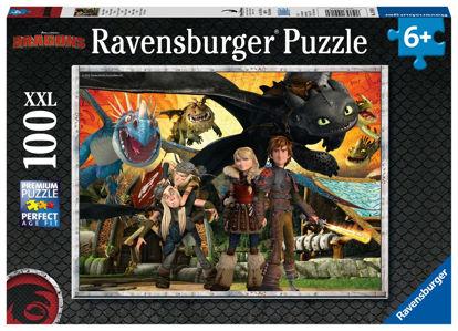 Obrázek Puzzle Jak vycvičit draka: Dračí přátelé 100 dílků