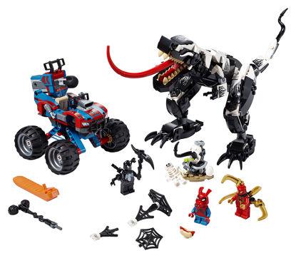 Obrázek LEGO Super Heroes 76151 Léčka na Venomosaura