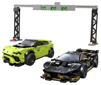 Obrázek LEGO Speed Champions 76899 Lamborghini Urus ST-X & Lamborghini Huracán Super Trofeo EVO