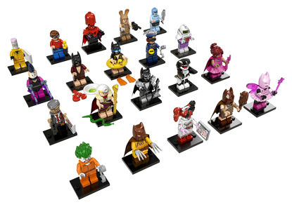 Obrázek LEGO Minifigurky 71017 LEGO Minifigurky Batman MOVIES  1 serie