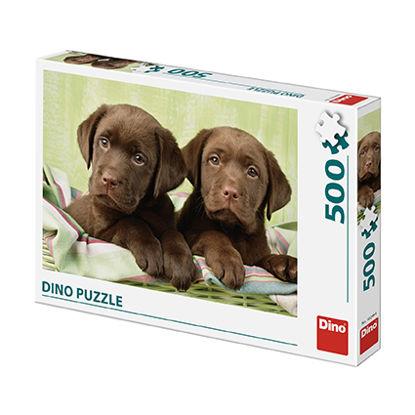 Obrázek LABRADOŘI 500 Puzzle