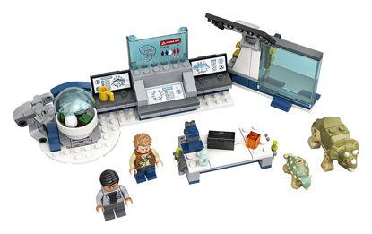 Obrázek LEGO Jurassic World 75939 Laboratoř Dr. Wu: Útěk dinosauřích mláďat