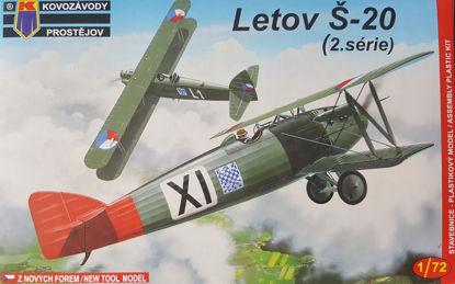 Obrázek Stavebnice Letov Š-20 Late