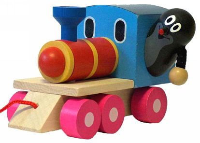 Obrázek Krtek a mašinka