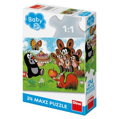 Obrázek Puzzle Krtek: Narozeniny 24D max