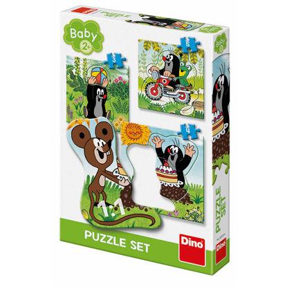 Obrázek Krtek na louce 3-5 baby puzzle