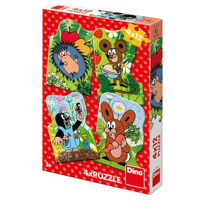 Obrázek Puzzle Krteček 4x12D