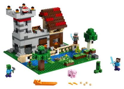 Obrázek LEGO Minecraft 21161 Kreativní box 3.0