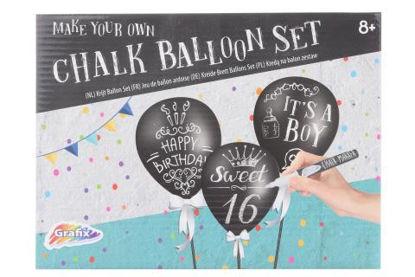 Obrázek Křídy na balónky, sada