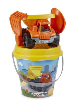 Obrázek Kyblíček se stavebním autem a přísl.