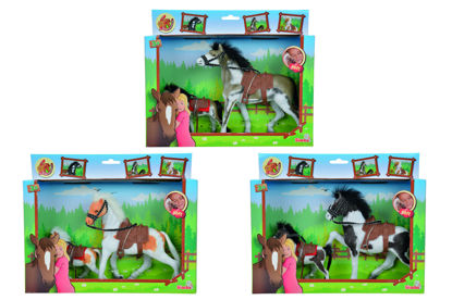 Obrázek Kůň Beauty Pferde set, 11 a 19 cm