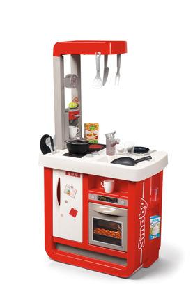 Obrázek Kuchyňka Bon Appetit červeno-bílá elektronická