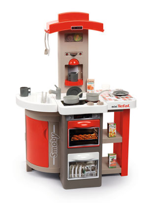 Obrázek Kuchyňka Tefal skládací elektronická, červená