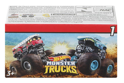 Obrázek Hot Wheels  MONSTER TRUCK mini auto