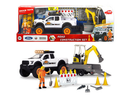 Obrázek Ford Raptor set silniční stavby